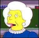 Quel président a habité la maison voisine des Simpson ?