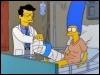 Comment Marge se fracture-t-elle la jambe ?