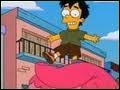 Comment s'appelle le garçon que recherchent les Simpson au Brésil ?