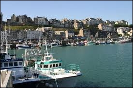 Cette image correspond à Granville. Où se trouve ce port ?