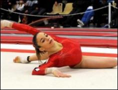 A quel âge commence-t-elle la gymnastique ?
