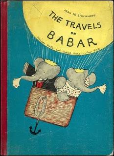 Voici Babar et sa femme :