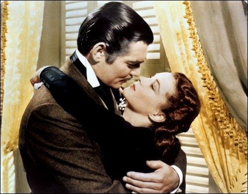 Dans quel film retrouve-t-on le couple mythique  Clark Gable et Vivien Leigh  ?