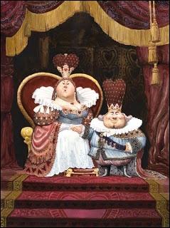 Quel est ce couple qui apparaît dans  Alice au pays des merveilles  ?