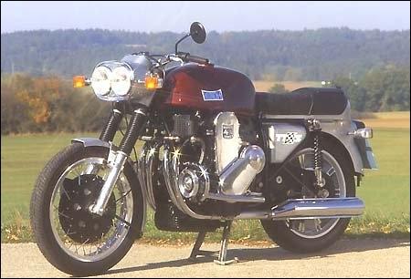 Quelle est cette moto qui, en 1966, était la plus grosse cylindrée européenne disponible ?