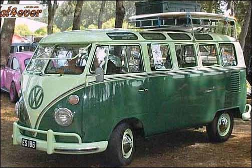 Quel est le type de ce combi VW ?