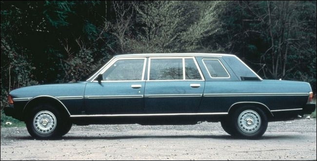 Belle limousine d'apparat, sur quelle base fut-elle construite ?