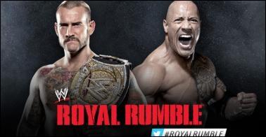 Qui ne devait pas intervenir dans le match entre The Rock et CM Punk ?