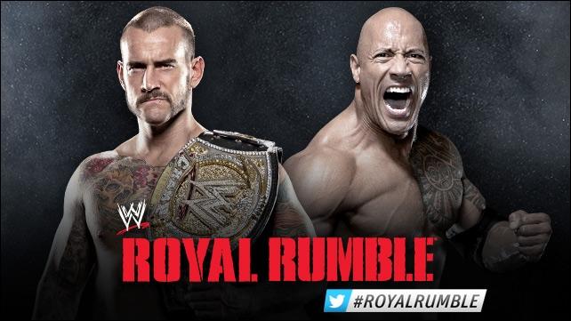 Qui a remporté ou conservé le championnat de la WWE lors du match CM Punk VS The Rock ?