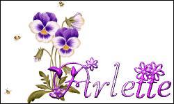 Quelle est la date de  Arlette  ?