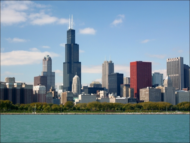 Dans quelle grande ville américaine pouvons-nous visiter ces buildings ?