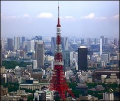 Dans quelle ville a été photographiée cette tour asiatique ?