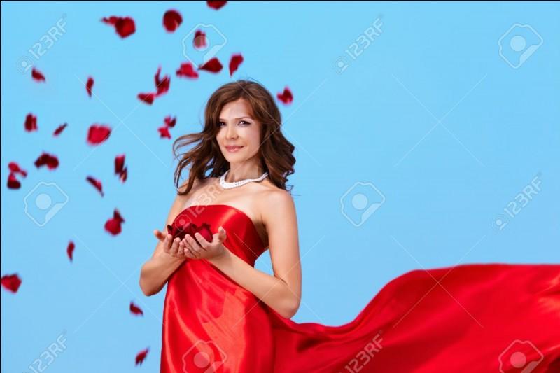 """Quel est le participe présent du verbe """"seoir"""" employé comme adjectif quand cela se rapporte à une jolie robe avantageant la silhouette ? On en rêve."""