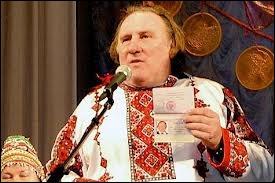 Terminons ce quiz avec le grand acteur russe Gérard Depardioff qui a chanté ...