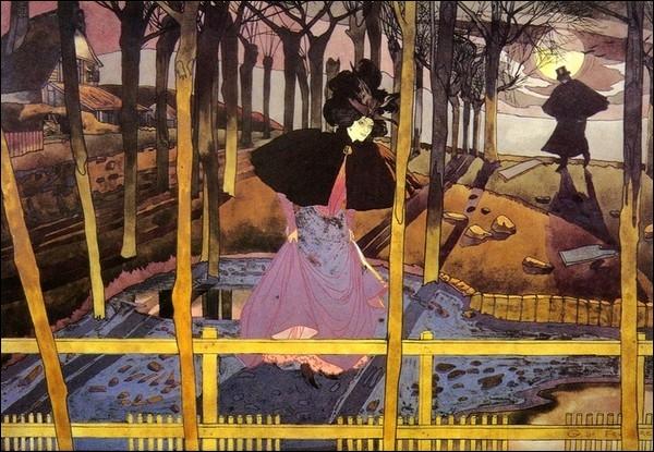La renommée de Georges de Feure était telle qu'on lui confia la réalisation de la façade du Pavillon de l'Art nouveau pour l'Exposition Universelle. En quelle année ?