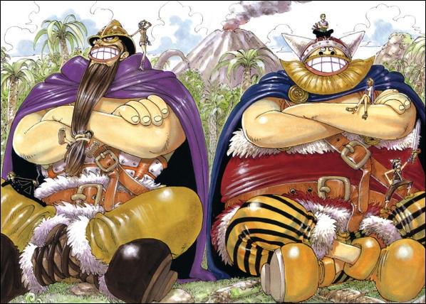 Qui est le plus grand dans One Piece ?