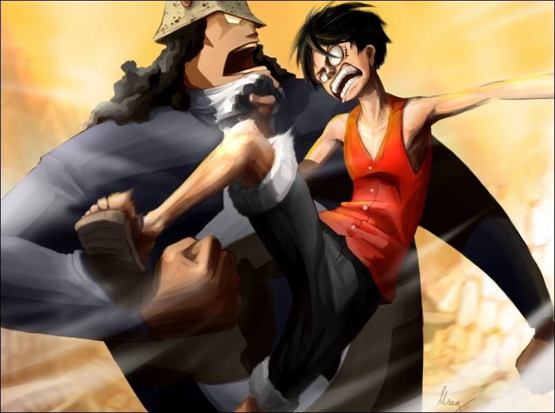 Quels sont les seuls personnages dans cette liste à avoir déjà battu voire vaincu Luffy dans un combat ?