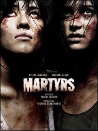Qui voit-on en dernier lieu dans  Martyrs  ?