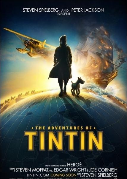 Quels albums de BD ont servi à Spielberg pour élaborer le scénario de son film   les Aventures deTintin : Le Secret de la Licorne   sorti en 2011 ?
