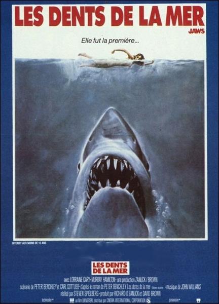 Dans  Les dents de la mer  en 1975, quel acteur incarne le chef de la police d'Amity : Martin Brody ?