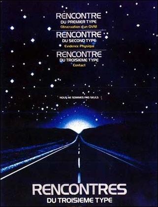Quel réalisateur français était au générique de  Rencontres du 3ème Type  en tant qu'acteur en 1977 ?