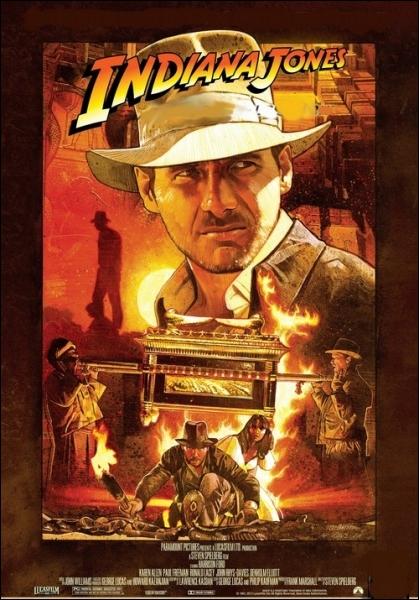 Quel est le titre du premier volet de la saga des  Indiana Jones  réalisé en 1981 ?