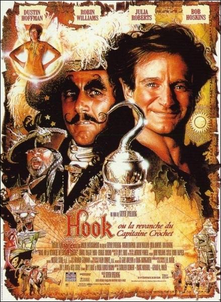 Qui revêt les habits du Capitaine Crochet dans   Hook  , film fantastique réalisé en 1991 ?