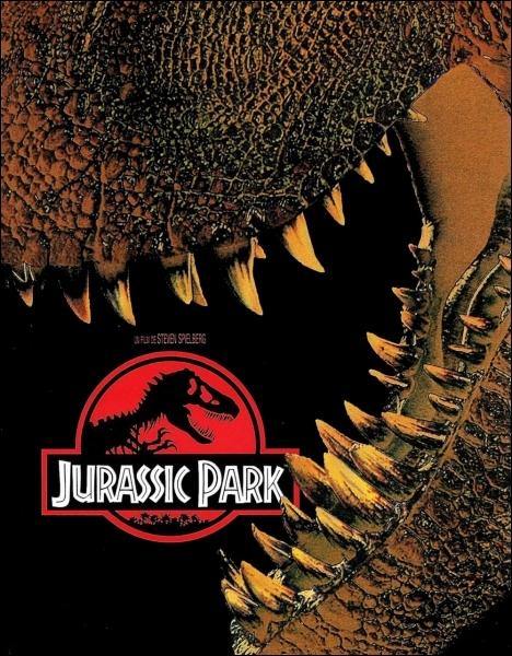 En 1993, Steven Spielberg réalise  Jurassic Park  adapté du roman éponyme de science-fiction de... .