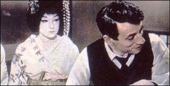 Ce que l'on sait moins de lui est sa participation au maquillage d'une célèbre artiste de cinéma dans le film  Ma geisha , sorti en 1962. Qui transforma-t-il ?