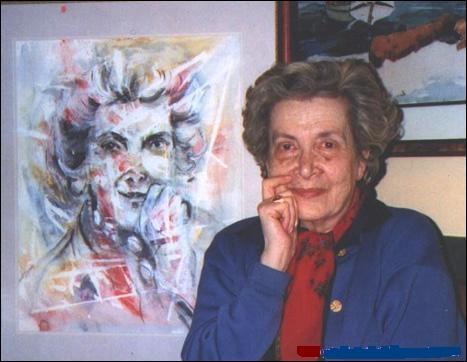 Hassan Massoudi rencontra cette femme de lettres libanaise, née en Egypte et décédée à Paris en 2011. Il fit de merveilleuses illustrations pour l'un de ses ouvrages.