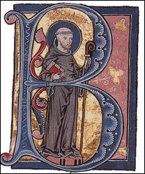 La calligraphie est aussi en Occident l'art des moines. Associée à l'écriture de l'histoire elle offre de magnifiques enluminures. Quel nom porte la majuscule initiale, placée en tête d'un texte ?