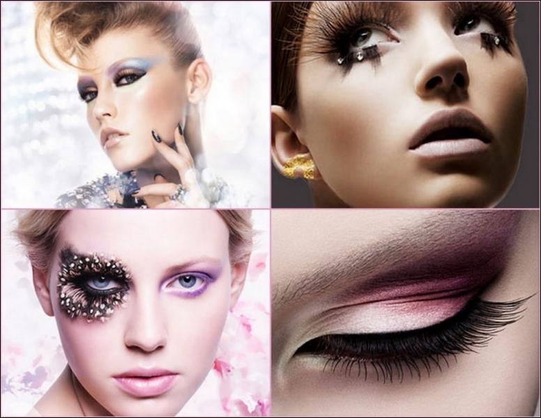 Que doit respecter Shu Uerama afin que les maquillages des yeux soient des oeuvres d'art ?