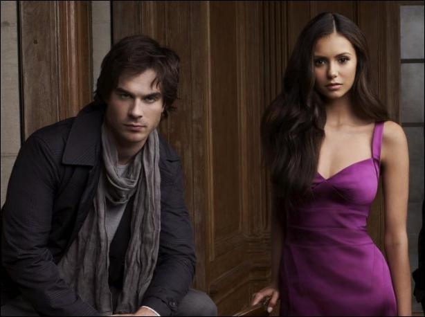 Comment s'appelle le couple que forment Elena et Damon ?