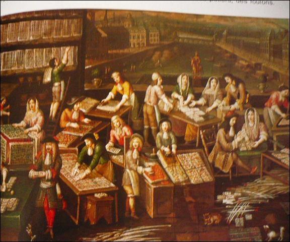 """Au XVIe siècle, les corps de métiers gardent pour l'essentiel l'organisation du Moyen Âge. En 1541, un édit interdit toute """"bande"""". De quoi était-il question ?"""
