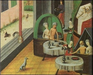 """""""Li baings sont chauds, c'est sans mentir, li baings sont chauds, c'est sans mentir"""". Quel instrument appuie la psalmodie du garçon étuveur qui parcourt les rues après le lever du jour ?"""