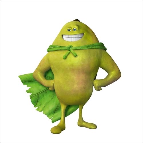 Qui est ce drôle de petit fruit, ce brave super héros ?