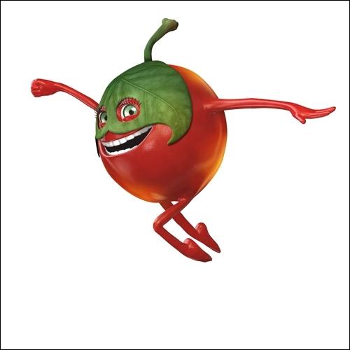 Qui est ce drôle de petit fruit, ce super héros ?