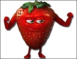 Qui est ce drôle de petit fruit séducteur et musclé ?