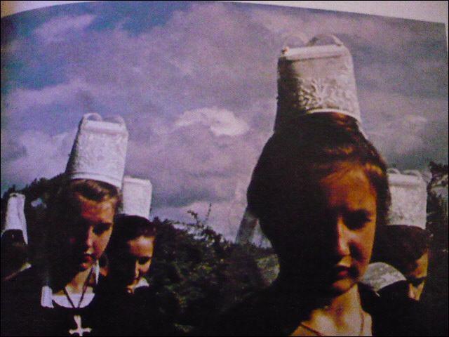 Au détour d'un buisson, regardons le passage de la Grande Troménie. Les pèlerins portent des bannières, et les femmes la coiffe traditionnelle de Locronan. Quand a lieu la Grande Troménie ?