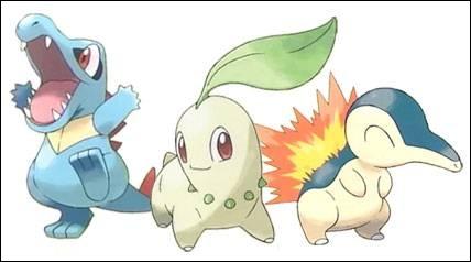 Quel Pokémon est de type feu ?