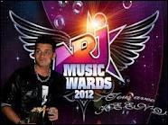 Dans quelle catégorie Keen'v a gagné un NRJ Music Award en 2012 ?