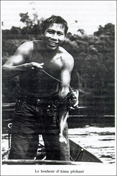 Il y a encore deux siècles, ces amérindiens, les Guayaki de Guyane, tuaient leurs ennemis et dévoraient exclusivement leurs sexes, pour s'en attribuer la puissance et la fécondité !