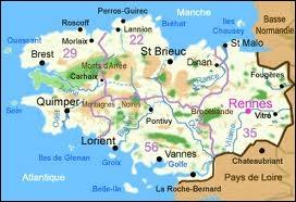 [Territoire] Parmi ces départements, le(s)quel(s) ne fait/font pas partie de la Région Bretagne ?