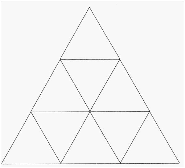 Combien comptez-vous de triangles (en tout) ?