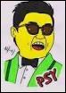 Qui est cette personne, très connue grâce à sa musique  Gangnam Style  avec plus d'un million d'exemplaire ?