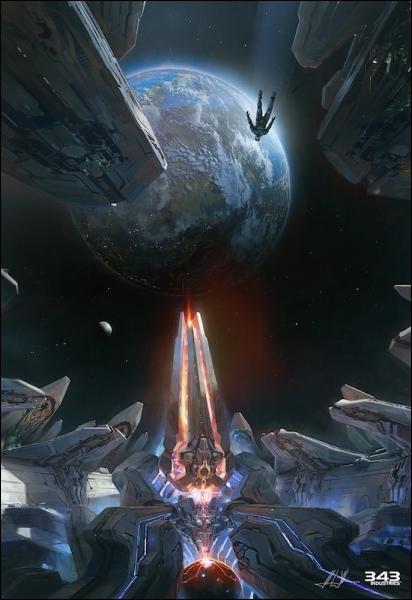 Dans Halo 1, comment s'appelle le vaisseau de la première mission ?