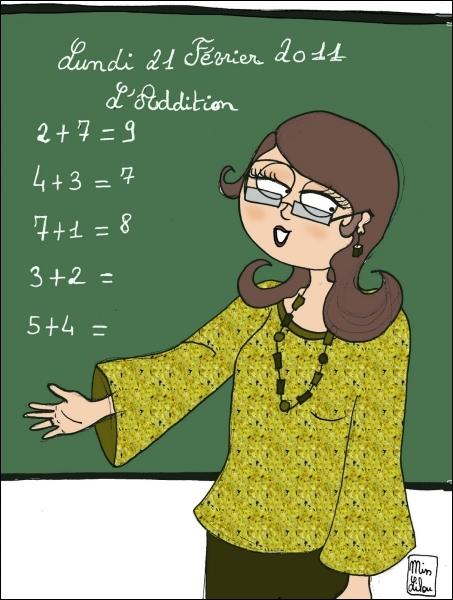 Combien y a-t-il de professeurs ?