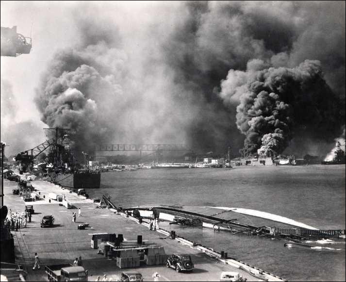 Durant quelle guerre mondiale le Japon attaqua-t-il la base américaine de Pearl Harbor ?
