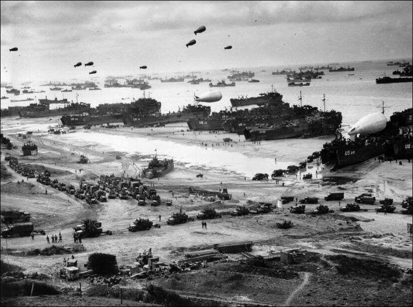 Durant quelle guerre mondiale se sont déroulés le débarquement et la bataille de Normandie ?
