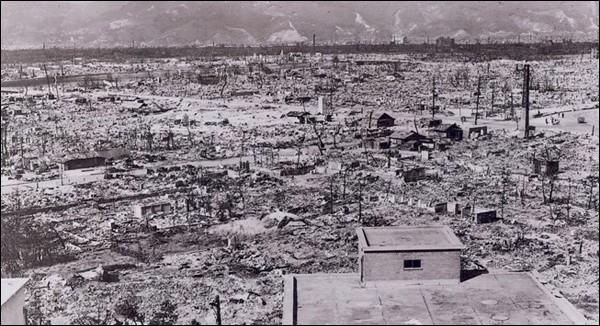 Durant quelle guerre mondiale s'est déroulé le bombardement des villes d'Hiroshima et de Nagasaki ?